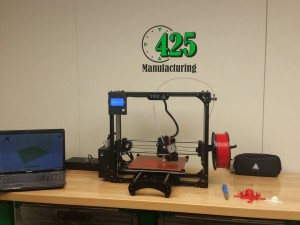 Our 3D Printer here at 425 Manufacturing