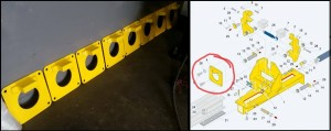 Water Jet and Welded machine stop plates