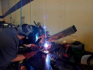 Machining, Engineering, and Welding on custom fixture