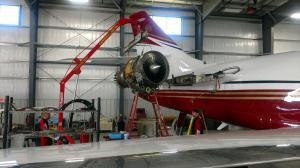 Lifting Engine from Falcon 2000EX