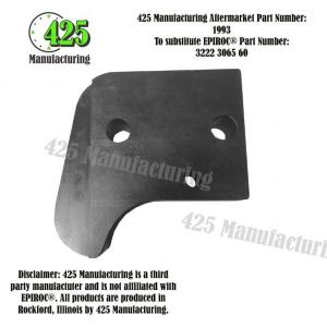 Replaces OEM P/N: 3222 3065 60 Guide Shark Fin         425 P/N 1993