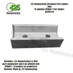 J62892418 Centralizer Clamp Jaw D64 Tube