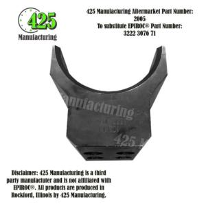 Replaces OEM P/N: 3222 3076 71 SUPPORT HALF 102MM P/N: 2005