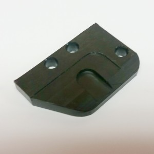 Black Plastic UHMW Adjustor Plate