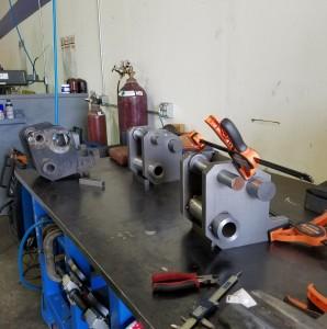 Mig welding custom machined weldment / assembly