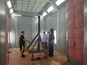 Painting Jet Engine Lift