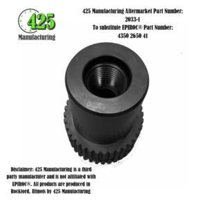 Replaces OEM P/N 4350 2650 41 Adapter4350 2650 41425 P/N 2033-1