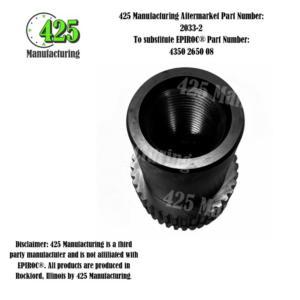 Replaces: OEM P/N 4350 2650 08 Adapter4350 2650 08425 P/N 2033-2