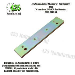 Replaces OEM P/N: 3222 3195 33 Plate    425 P/N 2066