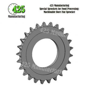 2299K330 MACHINABLE BORE FLAT SPROCKET MODIFIED BORE