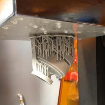 Prototype SLA 3D Printing