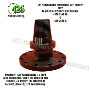 Replaces OEM P/N: 4350 2580 70 & 4350 2650 07 Combo L6 to L8-D60 Intermediate Adapter 425 P/N 3022