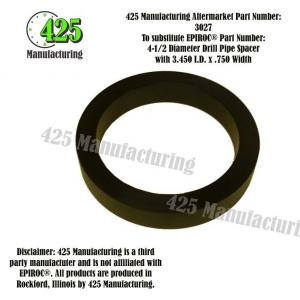 "Replaces OEM P/N: 4-1/2"" Diameter Drill Pipe Spacer with 3.450 I.D. x .750 Width425 P/N 3027"