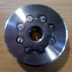 304 Stainless Retort Wheel