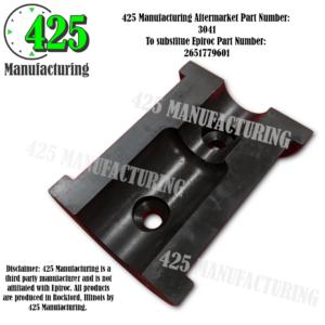 Replaces OEM P/N: 51779601 Gate Bushing Half T-45 Drill Steel 425 P/N 3041