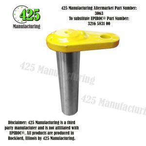 Replaces OEM P/N: 3216 5831 00 shaft complete   425 P/N 3063