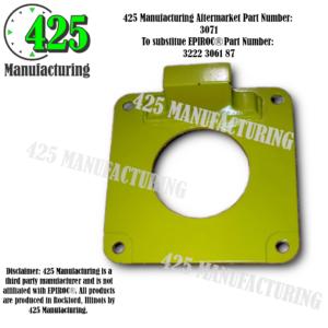 Replaces OEM P/N: 3222 3061 87 Plate    425 P/N 3071