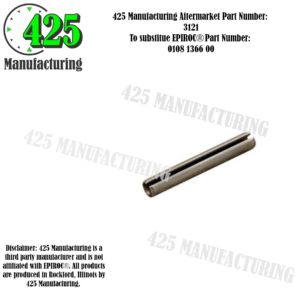 Replaces OEM P/N: 0108 1366 00 Spring Pin   425 P/N 3121