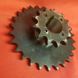 26/13 Custom Double Sprocket for Sheeter Machine