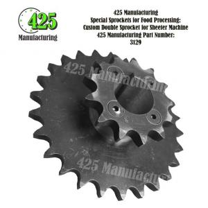 Custom Double Sprocket For Sheeter Machine 425 P/N 3129