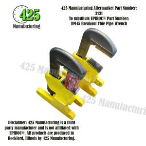 DM45 Breakout Table Pipe Wrench