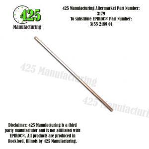 Replaces OEM P/N: 3155 2189 01 Guide Cradle 425 P/N 3179