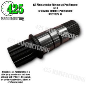 Replaces OEM P/N: 3222 1824 70Shaft 425 P/N 3214