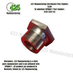 Replaces OEM P/N: 3128 2287 63 Bushing 425 P/N 3220