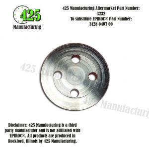 Replaces OEM P/N: 3128 0497 00 Cover 425 P/N 3232