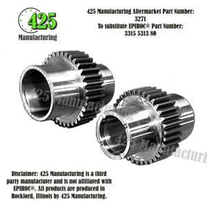 Replaces OEM P/N: 3315 5313 80 Rotation Chuck 425 P/N 3271
