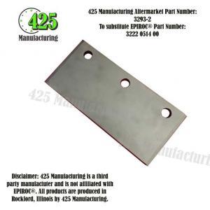 Replaces OEM P/N: 3222 0514 00 Sliding Piece   425 P/N 3293-2