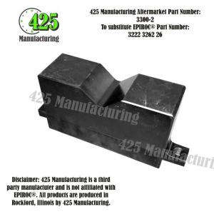 Replaces OEM P/N 3222 3262 26 DrillRig Support Half425 P/N 3300-2
