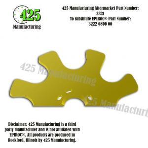 Replaces OEM P/N: 3222 0890 00 Star Wheel 3.5 Inch425 P/N 3321