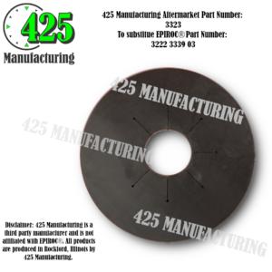 """Replaces OEM P/N: 3222 3339 03 Gasket 89MM 3.5"""" Budget $$$ From Conveyor Belting Material  425 P/N 3323-2"""