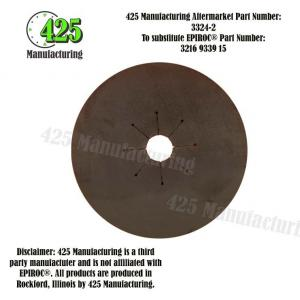 Replaces OEM P/N: 3216 9339 15 425 P/N 3324-2Gasket  T51 Drill Steel Style Budget $$$ From Conveyor Belting Material