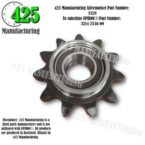 Replaces OEM P/N: 3214 2536 00 Sprocket Wheel 425 P/N 3328