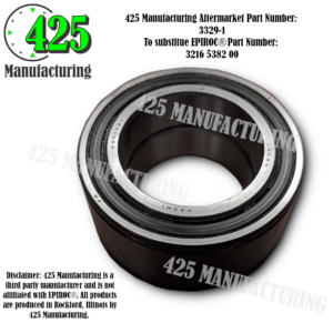 Replaces OEM P/N: 3216 5382 00Roller Bearing 425 P/N 3329