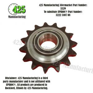 Replaces OEM P/N: 3222 3107 08 Sprocket Wheel 425 P/N 3329