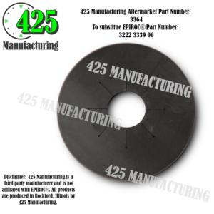 """Replaces OEM P/N: 3222 3339 06 Gasket 127MM 5.0"""" Budget $$$ From Conveyor Belting Material  425 P/N 3364-2"""