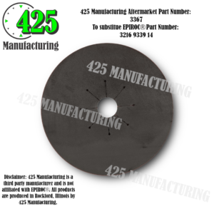 Replaces OEM P/N: 3216 9339 14 Gasket   T45 Drill Steel Style Budget $$$ From Conveyor Belting Material  425 P/N 3367-2