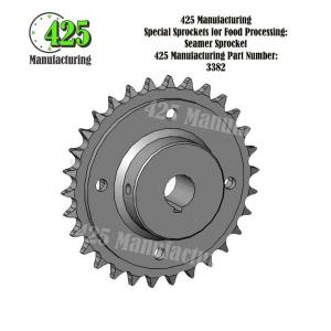 Seamer Sprocket 425 P/N 3382