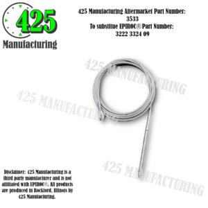 Replaces OEM P/N: 3222 3324 097650mm length  425 P/N 3533