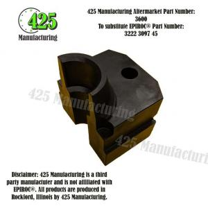 Replaces OEM P/N: 3222 3097 45 Drill Steel Support Half425 P/N 3600