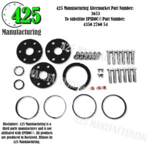 Replaces OEM P/N: 4350 2760 54 FLYTSUB Repair DHR6H Spare Parts Set With 3 Buffers                                  425 P/N 3653