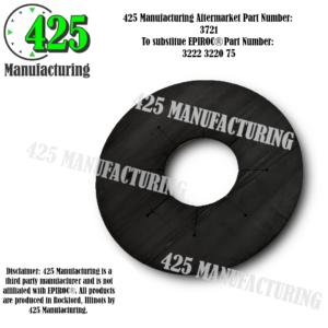 """Replaces OEM P/N: 3222 3220 75 Gasket 4.5""""Budget $$$ From Conveyor Belting Material   425 P/N 3721"""