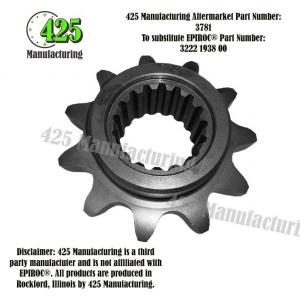Replaces OEM P/N: 3222 1938 00 Sprocket Wheel  425 P/N 3781