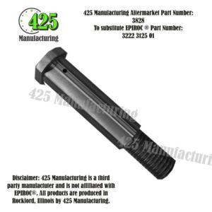 Replaces OEM P/N 3222 3125 01 Shaft  425 P/N 3828