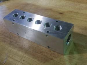 6 Port Aluminum Hydraulic Manifold