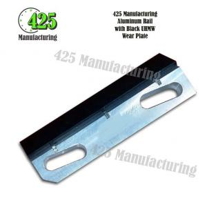 Aluminum Rail with Black UHMW Wear Plate