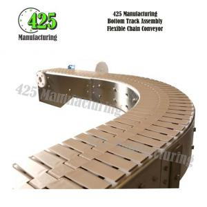 Bottom Track Assembly Flexible Chain Conveyor